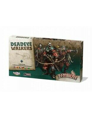 Zombicide Black Plague Deadeye Walkers (Multiidioma)