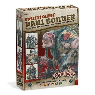 Zombicide Black Plague - Special Guest Box Paul Bonner (Multiidioma)