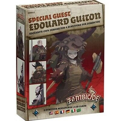 Zombicide Black Plague - Special Guest Edouard Guiton (Multiidioma)