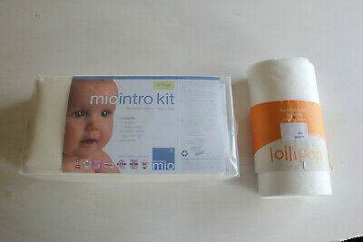 BRAND NEW Bambino Mio Reusable Nappy Intro Kit: Nappies,Cover & liners 5-7kg