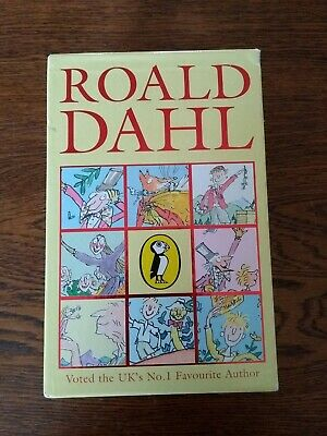 Roald Dahl Collection 8 Book Box Set In Slipcase Puffin Stories The BFG, Charlie