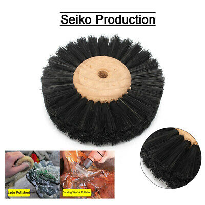 3 Inch Horse hair Grinding Polishing Wheel For Brush Clean Abrasive Rotary Tool