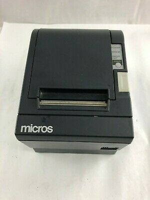 MICROS//EPSON TM-T88iii THERMAL PRINTER MICROS SERIAL  INTERFACE W// WARRANTY