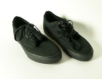 "Vans ""Winston Deluxe"" BlackDachshund canvas shoes"