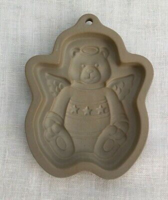 Cookie Mould - Teddy Bear with Halo and Wings
