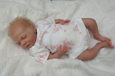 Honeybabies Lovely Little Reborn Baby  Doll Preemie By Cindy Musgrove