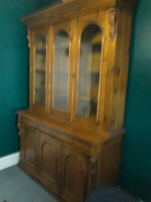 Large bookcase baltic pine.