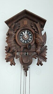 Antique West German Cuckoo Clock