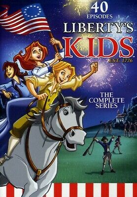 Liberty's Kids: The Complete Series [4 Discs] 683904530608 (DVD Used Good)