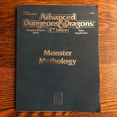 Monster Mythology Advanced Dungeons & Dragons 2nd Edition 2128