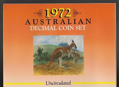 **1972 Australian Sherwood mint set**