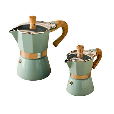 2//3//4//6//9//12-Cup Stainless Espresso Coffee Maker Percolator Stove Pot Holder