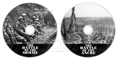 The Battle of the Somme + Ancre (1916-1917) World War 1 Documentary DVD's (WW1)