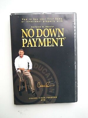 DVD: Carleton Sheets_NO DOWN PAYMENT_How to buy your first home or property with