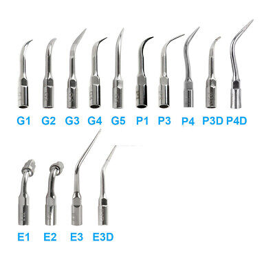 15 Type Dental Ultrasonic Scaler Scaling Endo Perio Tip Fit EMS Woodpecker WRD