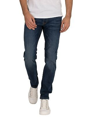 JACK e Jones Jeans Blu Navy jjimike jjoriginal AM 814 Comfort Fit Nuovo