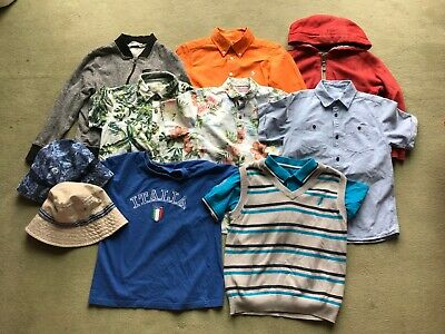 Quality Bundle Of Boys Clothes 11 Items Age 6-8 Years