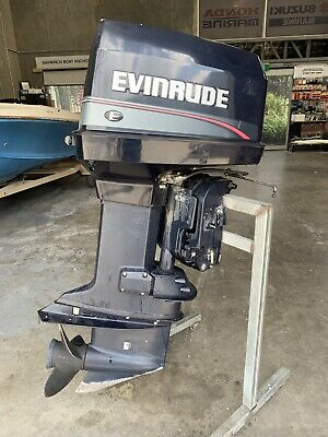 130 Hp Johnson Evinrude Outboard Motor (Interstate Freight Available)