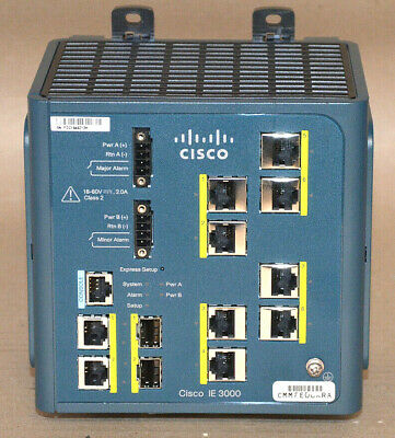 Cisco Systems IE-3000-8TC Industrial Ethernet Switch