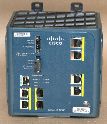 Cisco Systems IE-3000-4TC Industrial Ethernet Switch