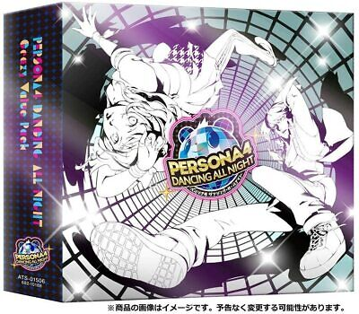 Official Sony PS Vita Persona4 Dancing All Night Crazy Value Pack Japan Used F/S