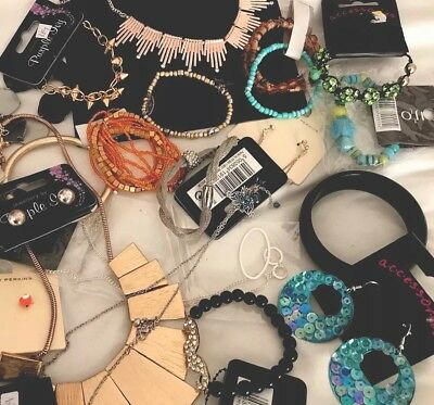 Wholesale Job Lot Ladies Mixed Lot New Fashion Jewellery 23 Items To Clear ❗️