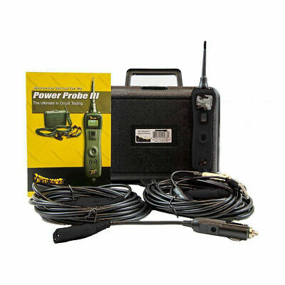 Power Probe 3 Auto Electrical Circuit Tester Kit 12V-24V PP319FTCBLK GREAT KIT.