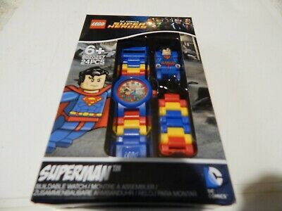 Superman  Dc Comics Super Heroes Watch  8020257 Lego 24 Pcs Age 6+