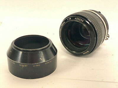 Nikon Nikkor 85mm f1.8 AI, Fast Prime, Manual Focus + NH-7 Hood