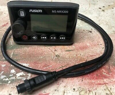 Fusion MS-NRX300 Wired Remote For NMEA 2000 Compatible Units Marine 010-01628-00