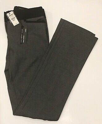 EXPRESS Columnist Barely BootWomen's Dress Work Pants Size 0 XS NEW Grey Gray