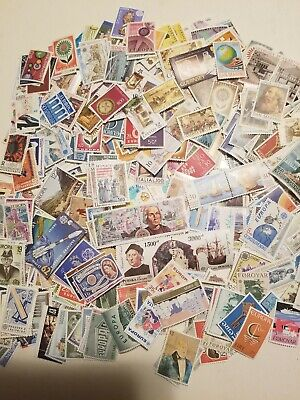 1000 Different MNH Worldwide stamps mostly Europa CEPT and USSR