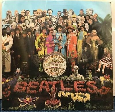 Sgt. Pepper's Lonely Hearts Club Band LP (UK 1967) : The Beatles
