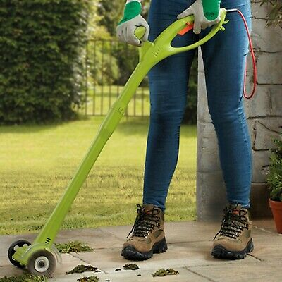 Garden Gear Electric Weed Sweeper Moss Remover Patio Cleaner Strimmer 140W NEW