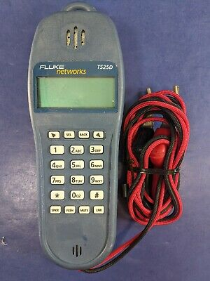 Fluke Networks TS25D, Good Condition!