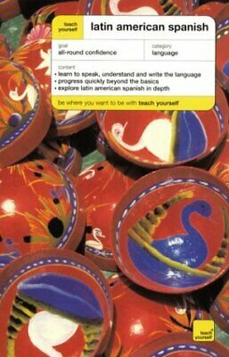 TEACH YOURSELF LATIN AMERICAN SPANISH COMPLETE COURSE By Juan Kattan-ibarra Mint