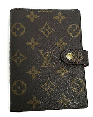 Authentic LOUIS VUITTON Monogram Agenda Address Book New Without Tags