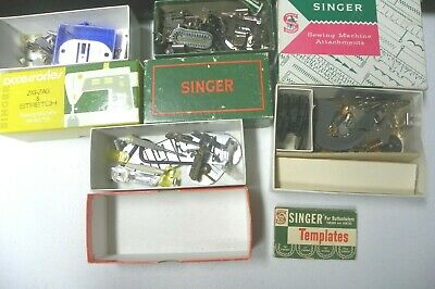 LOT of Vintage SINGER Sewing Machine parts