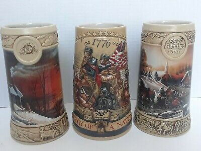 Miller Genuine Draft Stein: Birth of a Nation, Sharing Season, Pleasure Winter