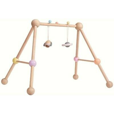 Plan Toys Pastel Baby Play Gym Wooden Toy - Sustainable Materials