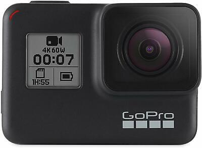 GoPro HERO7 Black 12 MP Waterproof 4K Camera Camcorder