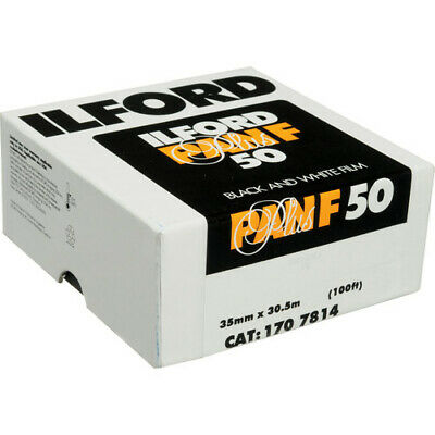 Ilford Pan F Plus Black and White Negative Film (35 mm Roll Film, 100' Roll)