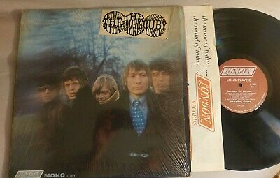 The Rolling Stones 'Between The Buttons' 1966 mono Lp in shrink w/ hype sticker