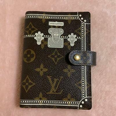 Authentic Louis Vuitton Vintage Marvoir Ring Agenda PM Binder Notebook Cover