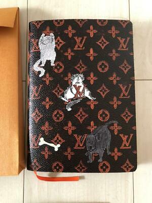 Rare Unused Authentic Louis Vuitton Vintage Catgram Kaye Clements Notebook