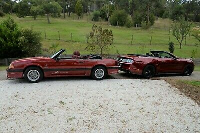 mustang 1989 25th anniversary convertible.very low 28000 miles superb car