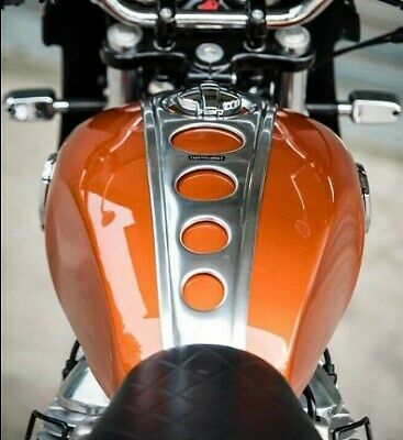 Royal Enfield interceptor 650 TNT Tank Pad Guard Cover Protector Traction Oil