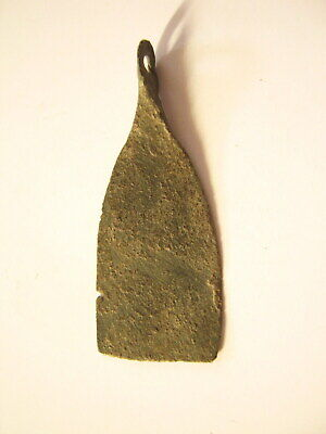 Early Medieval Viking Bronze Axe Pendant ca.9th-11th century AD