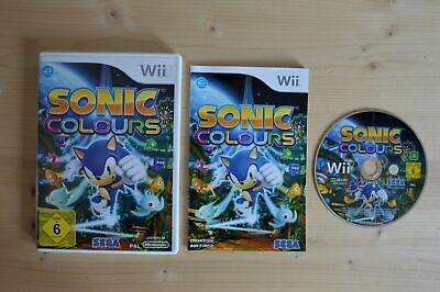 Wii - Sonic Colours - (OVP, mit Anleitung)