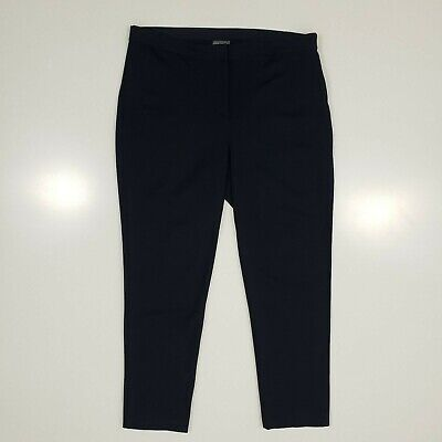 Vince Camuto Ponte Skinny Ankle Pants Womens 14 Classic Navy